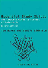Essential Study Skills: The Complete Guide to Success at University by Tom...