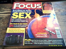 FOCUS SCIENCE MAGAZINE # 127 JUNE 2003 SEX SUPERCOMPUTERS STARGAZING