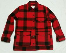 CC Filson Mackinaw Cruiser Jacket Buffalo Plaid Size 44 Hunting Outdoor