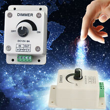 DC 12V 8A LED Light Protect GA Strip Dimmer Adjustable CO Brightness Controller