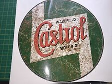 LARGE CASTROL RETRO RUSTY DISTRESSED 42cm VINYL STICKER DECAL CAR WALL ART Rat
