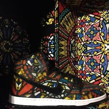"Nike Dunk High Pro SB x Concepts / Cncpts ""Stained Glass"" - Size 11.5"
