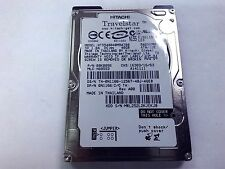Hitachi 40GB IDE Laptop Hard Drive HTS548040M9AT00 AS IS