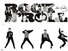 Elvis Presley Jailhouse rock B&W Rock and roll 2 individual posters New iconic