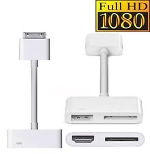 Dock Connector to HDMI HDTV TV Adapter Cable for Apple iPad 2 3 iPhone 4 4S iPod