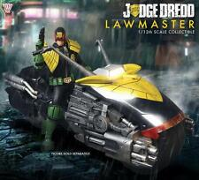 JUDGE DREDD Licensed DELUXE 1:12 Collective LAWMASTER Motorcycle Vehicle SET