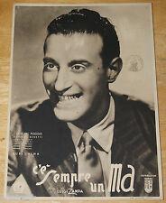 fotobusta film C'E' SEMPRE UN MA ! Nunzio Filogamo Luigi Zampa 1943