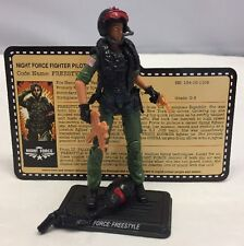 G.I. Joe Convention Freestyle v1 Night Force Specialists 100% Complete 2013
