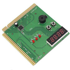 4-Digit Card Motherboard PCI ISA Diagnostic Post Tester Analyzer for Computer PC
