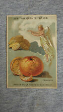 1 x CHROMO TRADE CARD Litho ROMANET Aux Fabriques de France CHARADE 110x75 mm