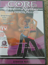 Core Rhythms Dance Exercise 3 Workout DVDs Starter Pack Latin Dancing Set Cardio