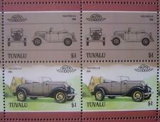 1932 FORD V8 / V-8 Car 50-Stamp Sheet / Auto 100 Leaders of the World