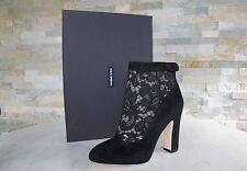 Dolce & Gabbana D&G Gr 38,5 Stiefeletten Boots Booties schwarz neu UVP 745€