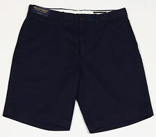 Men's POLO GOLF RALPH LAUREN Navy Blue Chino Shorts 38 NWT NEW Links Fit Stretch