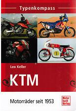 Buch Typenkompass KTM Motorräder seit 1953 Leo Keller