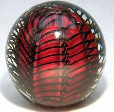 TEIGN VALLEY  GLASS TVG PAPERWEIGHT