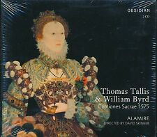 Thomas Tallis And William Byrd Cantiones Sacrae 1575 Alamire CD NEW