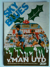 1982/83 Coventry City v Manchester United 1st Division