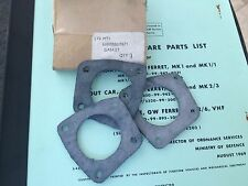 DAIMLER FERRET, AUSTIN CHAMP - GASKET INSTRUMENT PANEL CABLE OUTLET GLAND X3 NOS