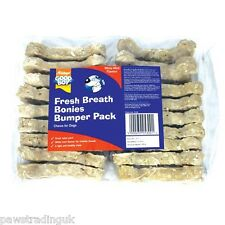 Good Boy Fresh Breath Bonies Rice and hide Dog Treat Chews Bones Chew x 18