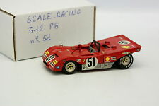 Scale Racing Kit Monté 1/43 - Ferrari 312 PB SEFAC N°51 Brands Hatch 1971