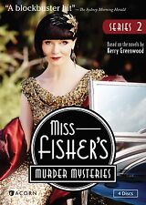 Miss Fisher's Murder Mysteries, Series 2 New DVD! Ships Fast!