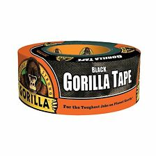 "NEW Gorilla Tape 1.88"" x 12 yds Black, Made in USA"