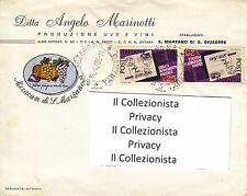 Ditta Angelo Marinotti Produzione Uve e Vini  S. Marzano di S. Giuseppe 1968