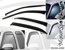Window Visor Sun Guard 4pc Deflector For 1996-2004 96-04 Nissan Pathfinder LE XE