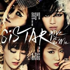 SISTAR Give It To Me 2nd Album CD w/Photobook Photo Booklet K-POP Sealed