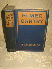 Antique Collectable Book Of Elmer Gantry, By Sinclair Lewis - 1927