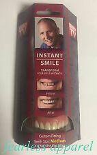 Instant Smile Deluxe Medium Fake Teeth Novelty Beauty Cosmetic Top Veneer