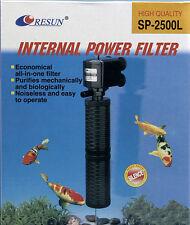Resun SP2500L Aquariumfilter   Schnellfilter  Innenfilter  mit  Powerhead