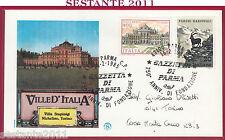 ITALIA FDC FILAGRANO VILLA STUPINIGI FONDAZIONE GAZZETTA DI PARMA 1985 Y942