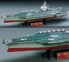 U.S.S. Nimitz Aircraft Carrier Ship Plastic Model Kit CVN-68 Academy 1/800 14213