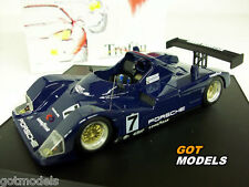 JOEST PORSCHE WSC 1/43 SCALE MODEL CAR BY TROFEU - TEST DAY LE MANS 1997 904