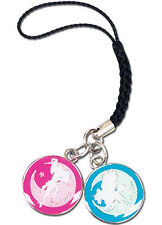 *NEW* Sailor Moon: Pegasus & Chibimoon Cell Phone Charm by GE Animation