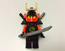 LEGO Ninjago Minifigure SAMURAI X Zukin Robes Minifig With Weapons New
