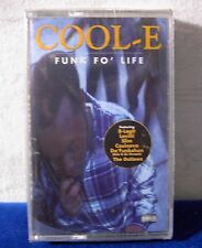 Cool-E Funk Fo' Life 1997 13 track CASSETTE TAPE NEW!
