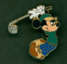Disney Pins WDW Golf Mickey Mouse Color Version