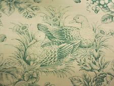 """JAY YANG Singapore Forrest Linen Blend Drapery & Upholstery Fabric 1994 57""""W"""