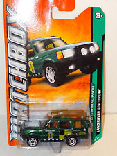 LAND ROVER DISCOVERY #115 GREEN MBX NATIONAL PARK 2012 MATCHBOX A10