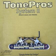 TonePros NVR2G-C CHEVALET Nashville ABR Nylon66saddle Tune-O-Matic Bridge GIBSON