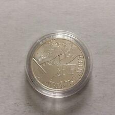 Pièce 10 € des régions France - 2010 - sur capsule - Rhône-Alpes