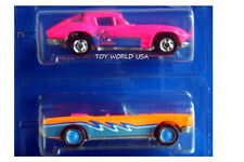 1990 Hot Wheels California Custom Freeway Frenzy '63 Corvette & '65 Mustang