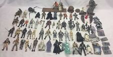 Star Wars 49 Action Figure Lot w Accessories & Extras 3.75""