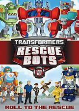 TRANSFORMERS RESCUE BOTS: ROLL TO THE RESCUE (DVD) Region 1 sealed