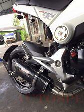 Yoshimura Low Mount Exhaust Full System Stainless For Honda grom msx125 msx125sf