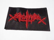 SARCOFAGO OLD LOGO EMBROIDERED PATCH