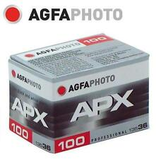 AgfaPhoto AGFA APX 100 ISO B&W 135-36 35mm BLACK & WHITE Film exp.2020
